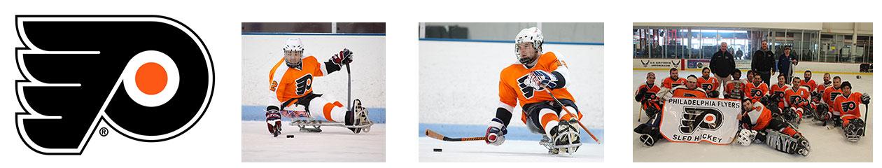 Philadelphia Flyers Sled Hockey